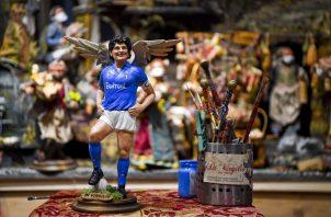 La imagen de Diego Maradona. Foto:EFE