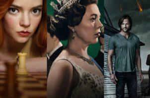 'The Queen's Gambit', 'The Crown' y 'Supernatural', encabezan la lista de las series más populares. Foto: Netflix