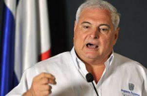 Ricardo Martinelli Berrocal, fue declarado no culpable del caso de los supuesto pinchazos.