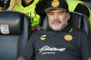 Investigan causa de muerte del astro del fútbol argentino, Diego Armando Maradona. Foto/EFE