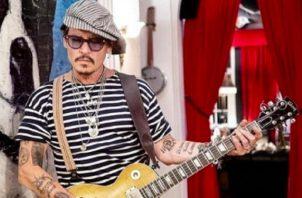 Johnny Depp. Foto: Instagram