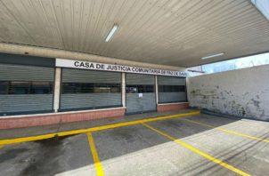 Casa de Justicia Comunitaria de Paz del corregimiento de David Cabecera. Foto: José Vásquez.