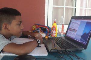 Las clases de los colegios públicos y privados este año han sido virtuales.