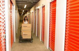 Los alquileres de los mini depósitos desde $9.99 hasta $400 dólares al mes en espacios que van de 10 a 30 metros cuadrados. Foto/Cortesía