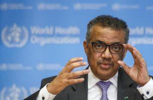 Tedros Adhanom Ghebreyesus, director general de la OMS. EFE