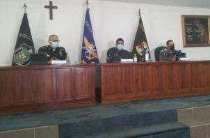 Estamentos de seguridad dan informe conjunto de operaciones del mes de noviembre. Foto:Luis Ávila