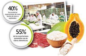 El expresidente de la Asociación Panameña de Exportadores (Apex), Rosmer Jurado señaló que cuando se sume el concentrado de cobre las cifras aumentaran notablemente.