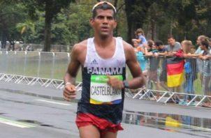 Jorge Castelblanco estaba entrenando desde febrero en Colombia.