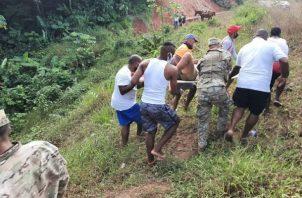 Accidente en Palmira, distrito de Santa Isabel en la Costa Arriba de Colón.