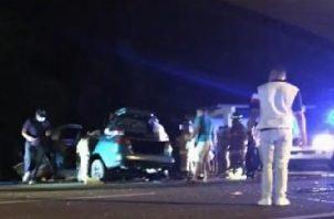 Con estas muertes por accidente de tránsito se elevan las víctimas fatales a 25 en la provincia de Chiriquí.