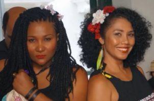 Miroslava Herrera y Tatiana Ríos, del Grupo Afrodisíaco. Foto: Instagram
