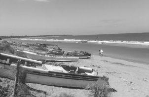 Un paseo por la playa El Arenal en Pedasí, en la provincia de Los Santos. Foto: Cortesía David José Díaz-Díaz.