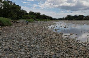 Durante el periodo de lluvia se enfrentan problemas por la gran cantidad de material pétreo y vegetal que arrastran los ríos y ahora el problema es por la falta de agua.