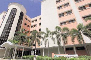El Santo Tomás es uno de los hospitales que ha tenido que tomar medidas, en los últimos días, para garantizar la atención a los pacientes con Covid-19. Archivo