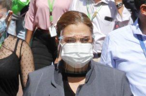 El personal de salud estuvo hoy en la Plaza 5 de mayo y en varios puntos del distrito de San Miguelito.