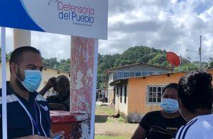 A solicitud de los pobladores se inspeccionó el vertedero de basura de la Costa Arriba de Colón.