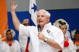 Ricardo Martinelli, expresidente de la república de Panamá durante los años 2009-2014. Archivo