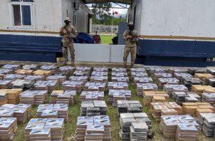En lo que va de este año la fuerza pública ha decomisado 75.9 toneladas de drogas. Ministerio de Seguridad