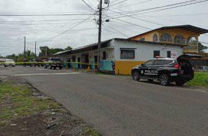 "Un fuerte operativo policial se activó en Génesis, así como en otras comunidades, luego del asesinato de ""Guabita"". Foto: Diómedes Sánchez S."