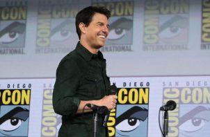 Tom Cruise regañó a dos miembros del equipo por no cumplir con las medidas sanitarias. Foto: Instagram