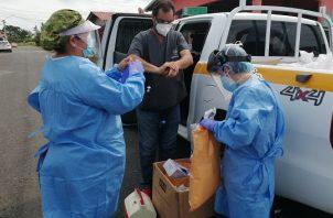 Autoridades han redoblado esfuerzos en la provincia de Coclé con los Equipos de Respuesta Rápida y los hisopados express.