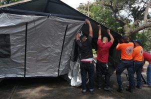 Panamá busca garantizar para el mes de enero unas 1,636 camas adicionales para pacientes con COVID-19. Foto:Cortesía