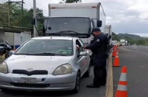 Iracema Dale Destacó que el cerco esta bajo la coordinación con la Policía Nacional y la Dirección regional del Ministerio de Salud.