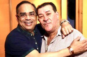 Gilberto Santa Rosa y Tito Rojas. Twitter