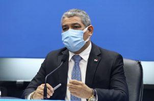 El ministro Luis Franciso Sucre anunció nuevas medidas para intentar contener un desenfrenado repunte de la pandemia de la COVID-19 en Panamá.
