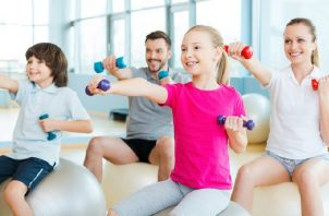 Haga ejercicio en familia Pixabay