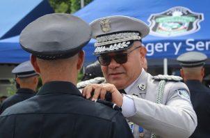 En los próximos días se debe realizar la ceremonia de ascensos dentro de la Policía Nacional. Archivo