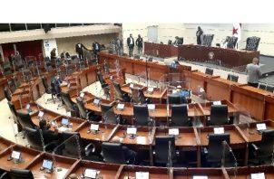 Segunda Legislatura del Segundo período de las sesiones ordinarias de la Asamblea Nacional. Foto: Víctor Arosemena