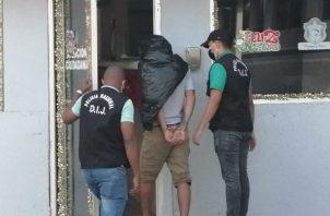 El Juez determinó la medida cautelar de detención provisional. Foto: Eric A. Montenegro.,