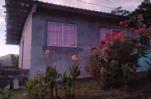 Residencia donde fue encontrado el cuerpo de la adulta mayor. Foto: Diómedes Sánchez S.