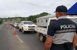 Por ahora el cerco sanitario de Panamá Oeste se mantendrá, según el titular del Minsa.