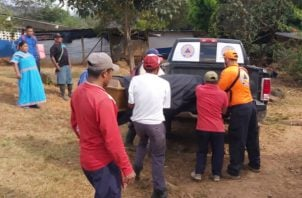 Los cuerpos de las menores fueron ubicados el pasado miércoles. Foto: Mayra Madrid.