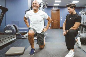Mariano Rivera, de 51 años, no descuida su condición física, a pesar de haberse retirado hace más de cinco temporadas. Mariano Rivera