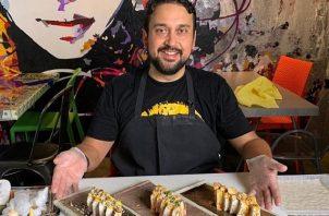 Edixon Hernández es abogado y 'chef' de profesión. Foto: Instagram / @chefedixon