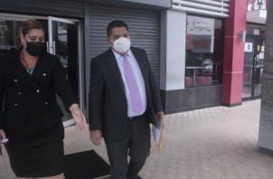 La denuncia por el ataque cibernético al Mides fue presentada por el asesor legal, Giovanni Ruiz Obaldía, el pasado lunes. Foto de Víctor Arosemena