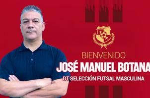 José Botana Vásquez. Foto:Fepafut