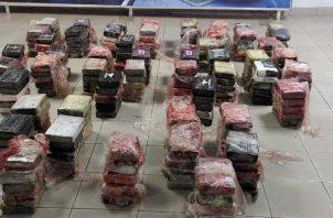 Gran cantidad de la droga incautada se registró en los puertos, las cuales tenían como destino Europa, Asía y Estados Unidos.