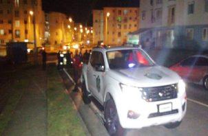 Al lugar llegó la policía comunitaria en Alto de Los Lagos que acordonó todo el perímetro para preservar la escena.