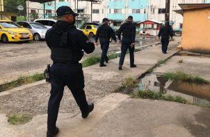 La Policía Nacional también realizó allanamientos.