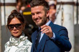 David y Victoria Beckham. Instagram