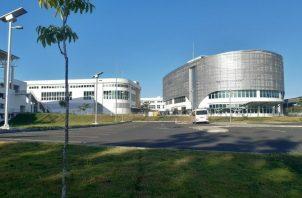 Instalaciones del Instituto Técnico Superior del Este, en Tocumen. Desarrolla su cuatrimestre en forma virtual, debido a la pandemia. Francisco Paz