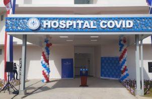 Hospital Covid contará con más de 300 camas y atención multidisciplinaria. Foto: Víctor Arosemena