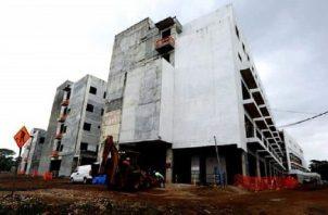 Así quedó la construcción del hospital Manuel Amador Guerrero, en la ciudad de Cólón. Foto de archivo