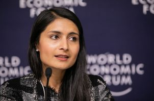 Saadia Zahidi, directora general del Foro Económico Mundial (FEM). Foto/EFE