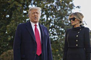 El presidente saliente de Estados Unidos, Donald Trump. Foto:EFE