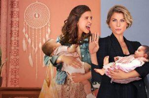 Al descubrir que sus bebés fueron cambiadas al nacer, dos madres muy distintas deciden formar una singular familia. Foto: Netflix